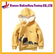 Baby Clothes Factory Pullover Hoodie Wholesale Kids Sherpa Hoodie