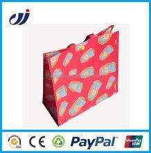 Waterproof eco-friendly top quality bopp film pp woven bag