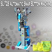 Cheaper high quality printed pearl snap button machine