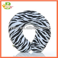 Convenient Microbeads travel neck pillow and throw cushion