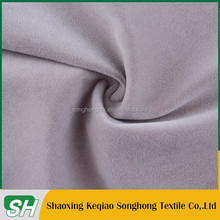 China Manufacturer good quality soft flocking suede fabric