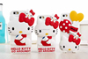 supplier adjustable hello kitty silicone case for iphone4/4s 5 for Samsung galaxy note 5