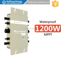 110v and 120v and 130voltagePlug-Play 120V 220v Solar Micro inverter with AC-Interconnect cable