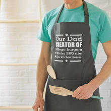apron with printed
