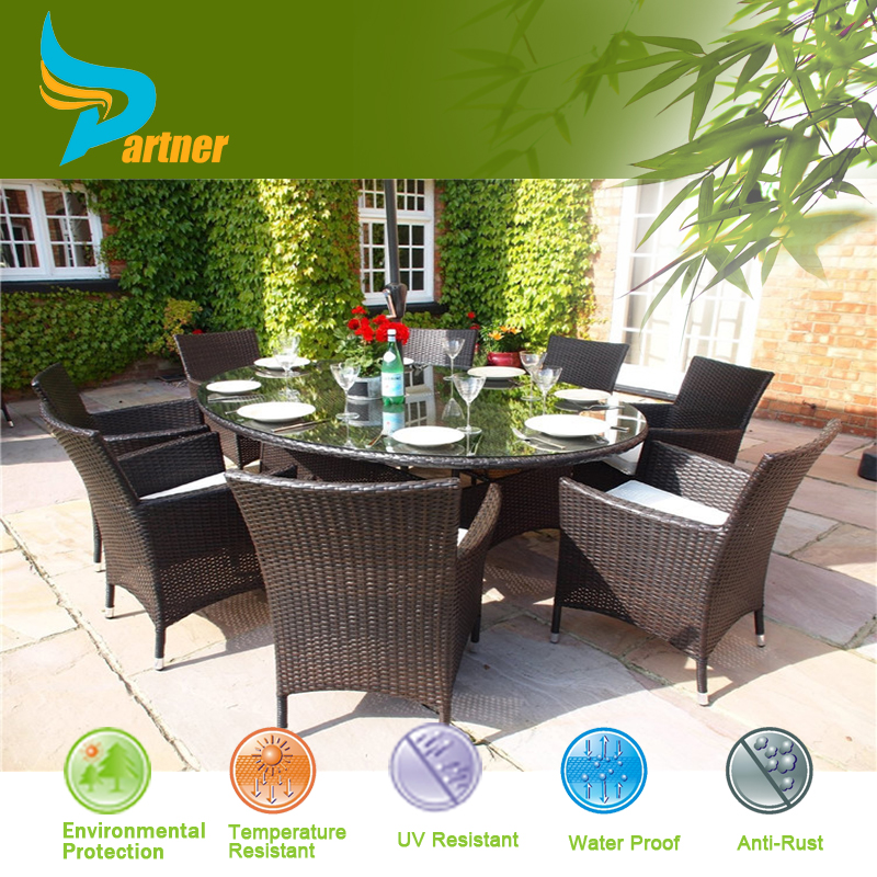 Cheap Outdoor Wicker Furniture Rattan Durable Classic Restaurant Sofa Set Ou