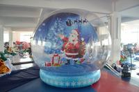 inflatable Christmas bubble tent, inflatable christmas dome house