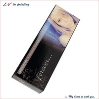custom elegant paper hair extensions box/ hair weave boxes/ luxury packaging boxes of hair wholesale