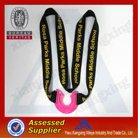 New world cup 2014 souvenir silkscreen printing retractable water bottle holder lanyard