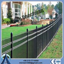 Australia Standard china post vinyl 2.1m*2.4m Decorative Galvanized Ornamental Steel Fencing wrought iron fence