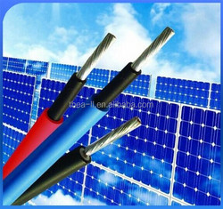 UV resistant XLPE Jacket and Solar Power System And Solar panels Application uv resistant cable