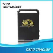 Dual Signal GSM GPS Card Slot TK102 Tracker Navigation