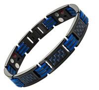 Europe And America bio magnetic bracelet 316l stainless steel bracelet hand chain for men