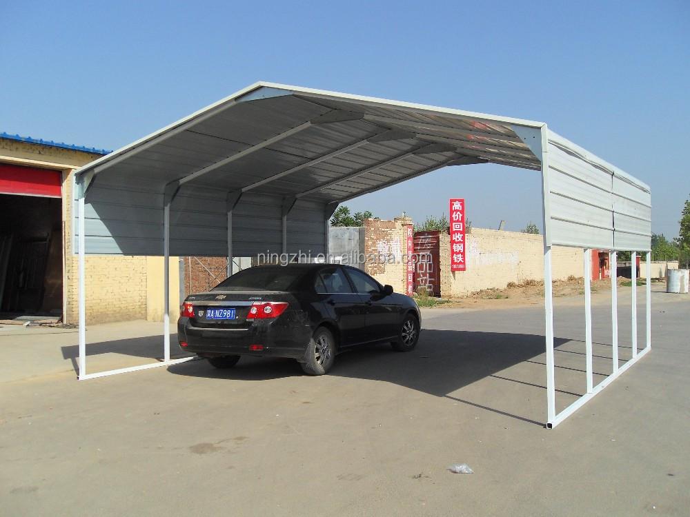 Steel Framed Carports : Wholesale x m single steel carport galvanized frame