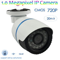 Cheap 1MP 720P HD ONVIF CMOS 20M IR Waterproof computer camera web cam, Support Android/Iphone