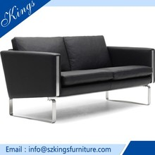 Home Furniture Living Room Modern Imported Genuine Leather Sofa