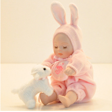 Poly resin Baby Music box in hot sale