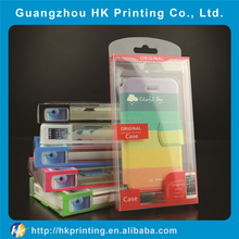 PVC/PET mobile phone protective packaging box for iPhone/Samsung