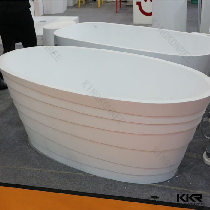 Kkr Custom Made Freestanding Bathtub Small Size Solid Surface Bathtub Buy F