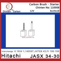 Hitachi auto spare parts - carbon brush JASX 34-30