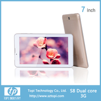 S8 Easy Touch Tablet PC 7' with 3000mah Battery, 2.0MP Dual Camera Tablet PC