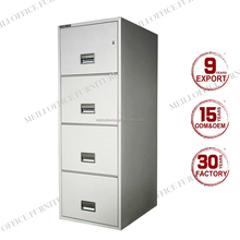 2015 Furniture office pedestal 4 drawer steel metal outdoor filing cabinet