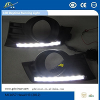 (2012)Factory Quality Assurance day light Water proof Led Drl Auto Accessory for Haval H3 Led Daytime Running Light