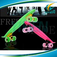 glow mini board skateboard
