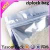Yason kids zipper bag zipper bag stand up pouch stand up with zipper bag