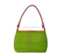 2015 Wholesale export fashion trendy leather handbag for woman
