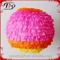 party hanging decoration ball wholesale adult paper pinata