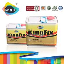 KINGFIX Brand high value 1k pearl green car paint