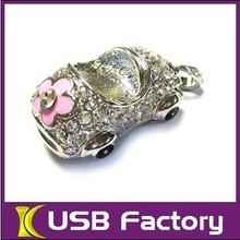 beautiful jewelry diamond usb flash drive 128MB-64GB