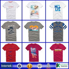Wholesale fitness apparel fitted autumn tshirt