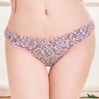 Sexy women tiger stripe printed women thong underwear wholesale stock thong women pantise