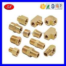 Custom brass air fittings,brass pneumatic fitting,female male fitting pipe
