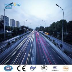 "Famous brand ""Henpong"" 10m Street Light Pole , Steel Street Light Post , Single Arm Street Light Pole"