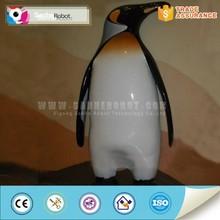 Life-size fiberglass animal model of penguin