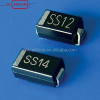 SS16 SMD Schottky Barrier Rectifier Diode 1A 60V SMA DO-214AC
