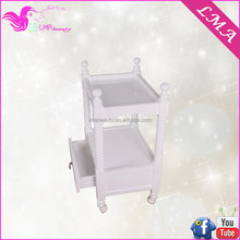 High quality Best-Selling wood spa trolley salon stations