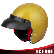 Chinese new design motorcycle helmet half face helmet