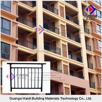 Anti-rust Galvanized Steel Assembling Balcony Railing