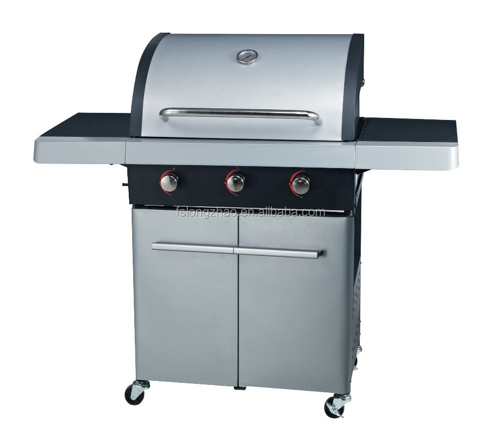 New outdoor stainless steel gas bbq grill for sale