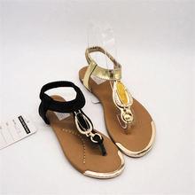 Export to Australia young girl sandal flat