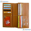 Top genuine leather wallet for men with guarding against theft