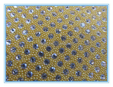 wholesale peals around shiny crystal hot fix rhinestones trimming for shoes gament