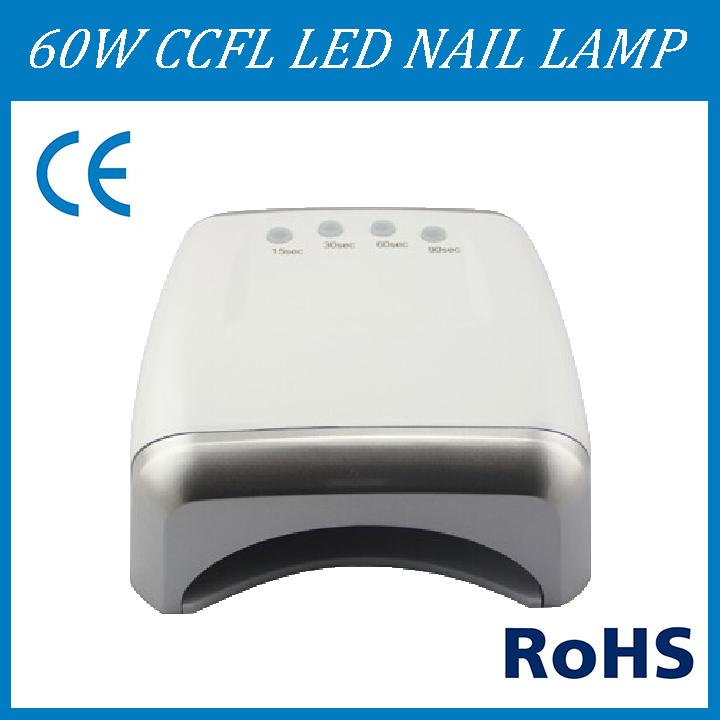 Gel nail polish for led light zone