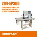Keestar 204-ep360 computer in pelle scarpa riparazione della macchina per cucire