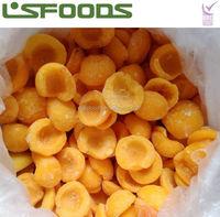 China Frozen Yellow Peach Half Cut TOP SALE