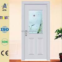 Zhejiang Afol solid and nice outlook steel door window insert