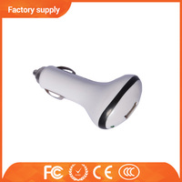 Black color 5v 1a output sigle car usb charger with ce fcc for mobile phone